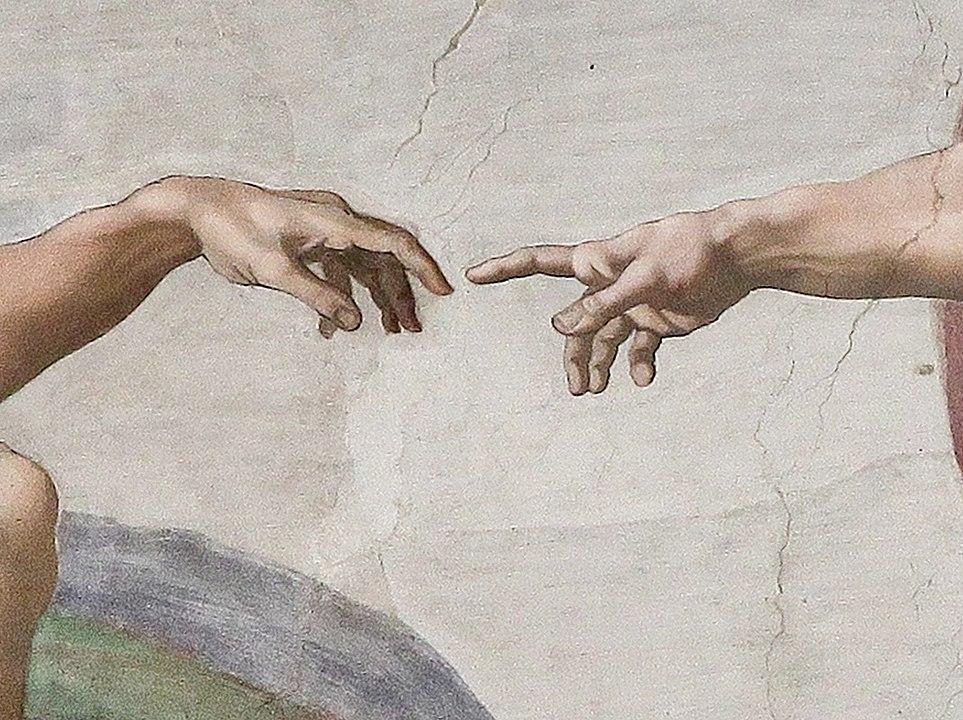 Creazione_di_Adamo_Michelangelo_artness