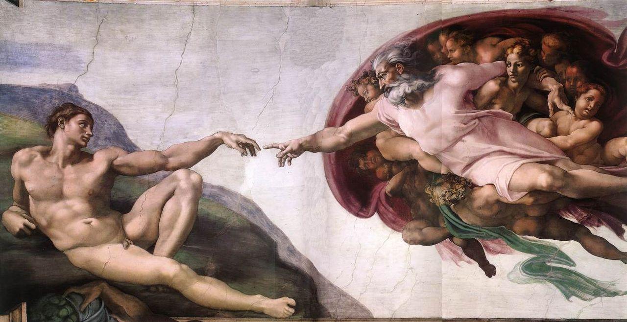 La_creazione_di _Adamo_Michelangelo_artness